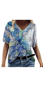 Sunflower Printed Loose Blouses(S-3XL)