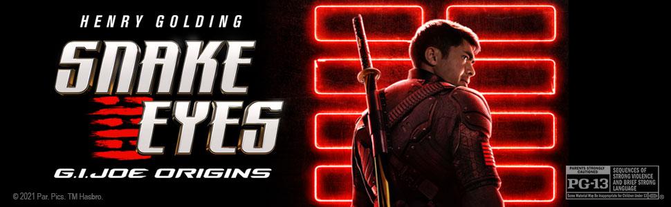 Snake Eyes, Henry Golding, GI JOE
