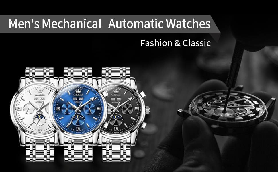 mens mechanical automatic watches