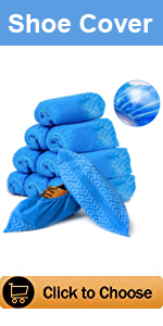 Oceantree Disposable Shoes Covers Non-woven Breathable Cool Comfortable Indoor Outdoor
