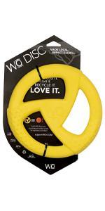 yellow WO Disc
