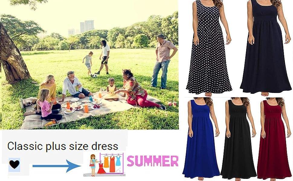 Plus Size Casual Dress
