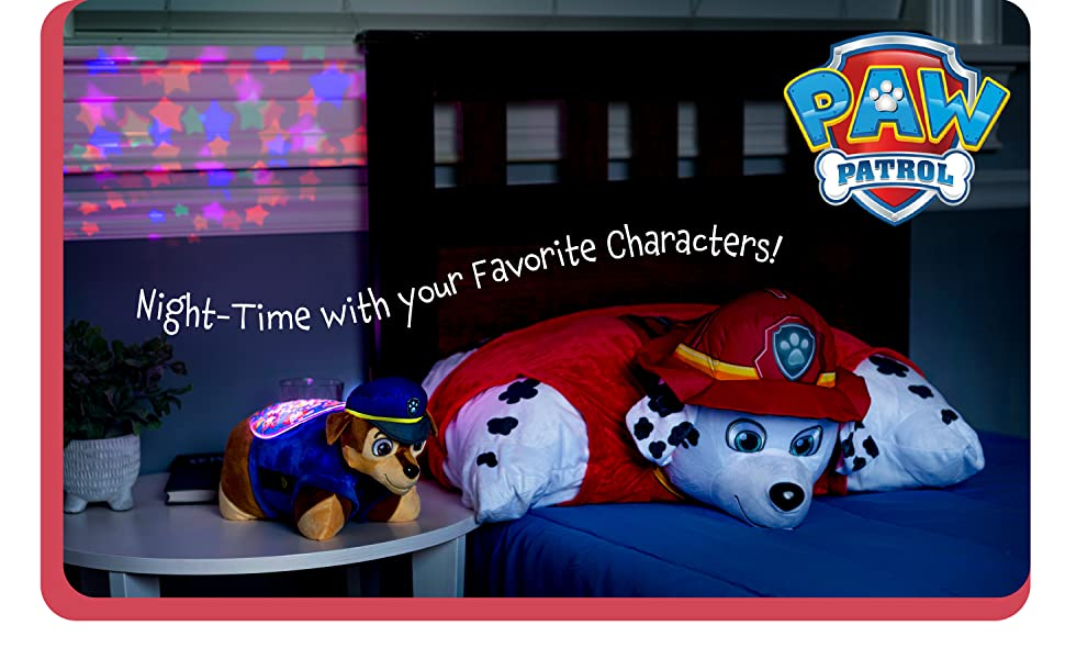 Night time with your favorite characters! Paw Patrol
