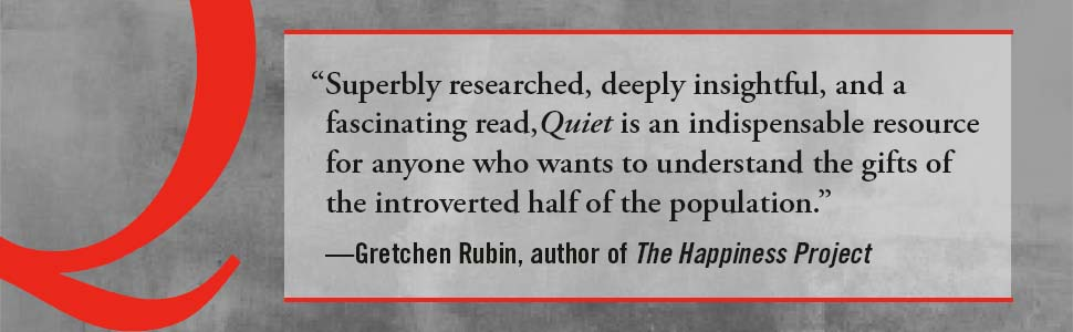 """Gretchen Rubin says, """"Superbly researched, deeply insightful, and a fascinating read"""""""
