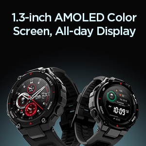 AMOLED Display Watch