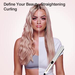 Define Your Beauty Straightening  Curling