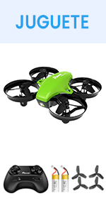 Potensic Mini Drone A20, Verde