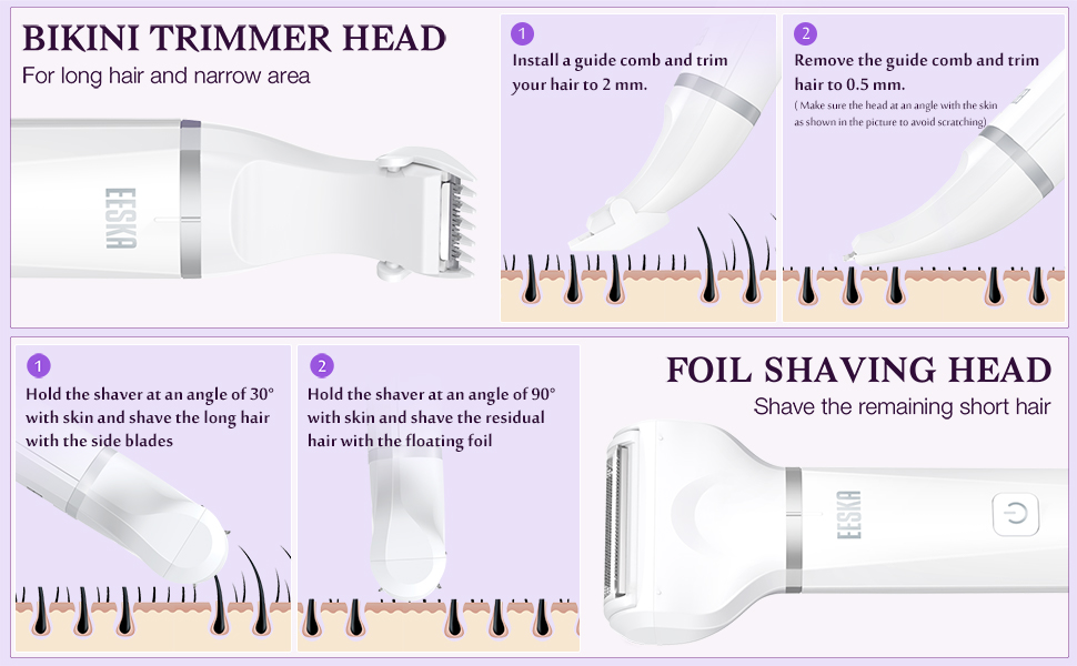 ladies hair removal devices hair trimmer women shaver for women