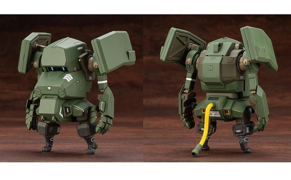 高度未来予測型サポートAIを搭載した『新型ジリツ戦車』。