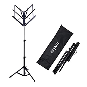 music stand, portable music stand, foldable music stand