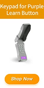Keypad for Purple Learn Button