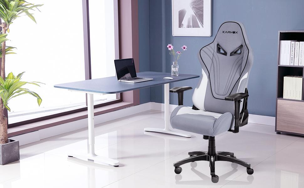 karnox gaming chair,pc gaming chair,gaming chair grey,cheap gaming chair,computer gaming chair