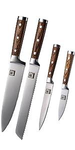 4PC knife set