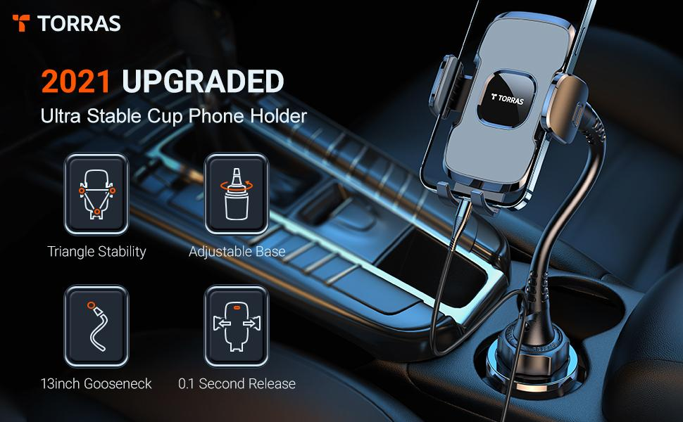 2021 UPGRADED ULTRA STABLE CUP PHONE HOLDER