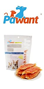 Chicken Jerky for Dogs Treats Training Snacks Dog Chew Treats Rawhide Free for Small and Large Dog