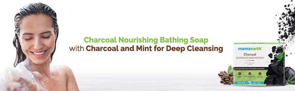 Charcoal Nourishing Bathing Soap