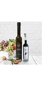 Vervana black label olive oil and balsamic vinegar