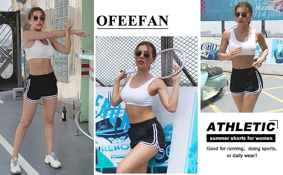 Workout shorts for women running yoga sports dolphin shorts