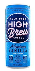 High Brew Mexican Vanilla