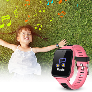 Smart watch for listening to music