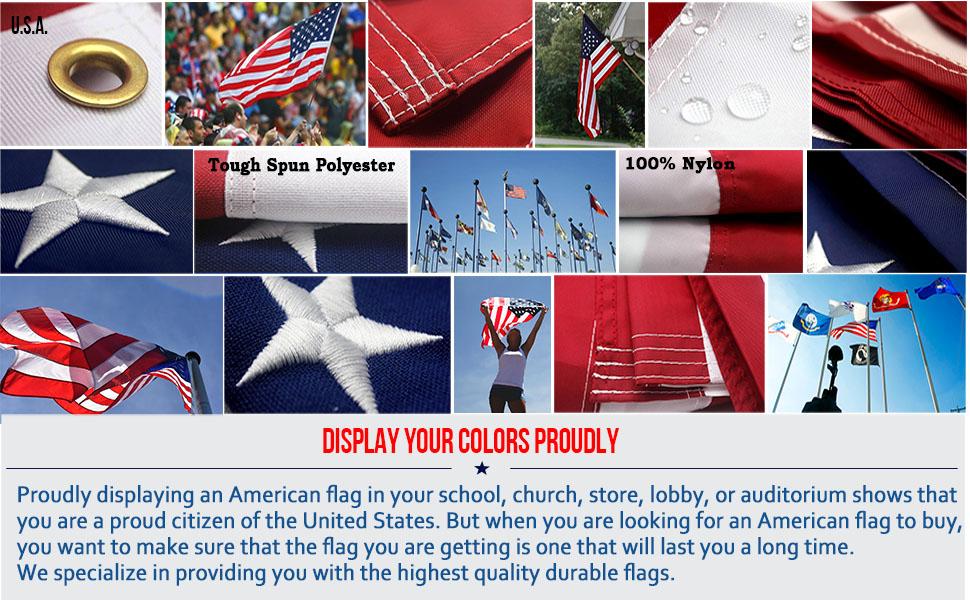 VSVO US American flags