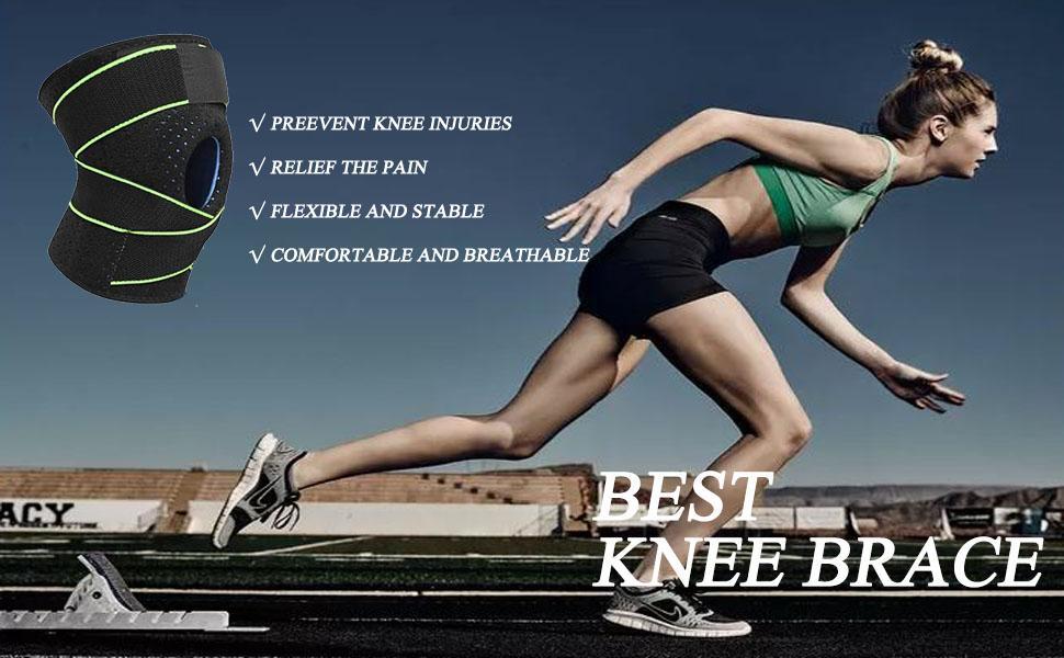 Knee Brace Compression for Men Women