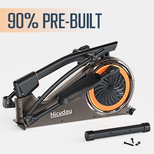 90% pre-built construction