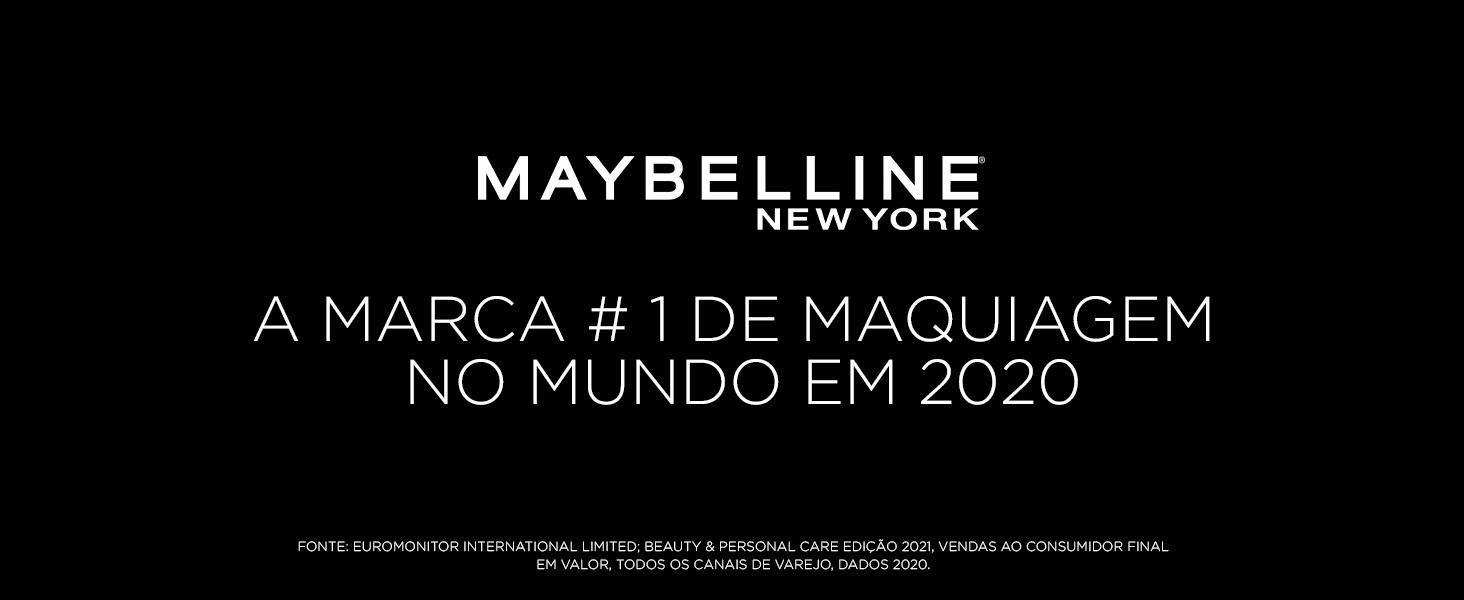 Maybelline - A Marca #1 de Maquiagem no Mundo em 2020