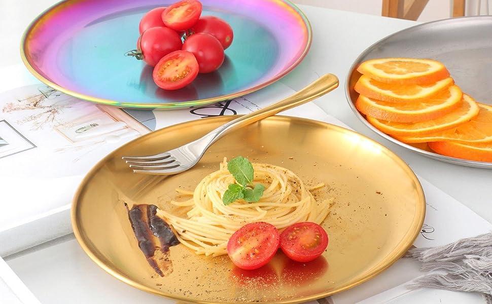 rainbow dish set