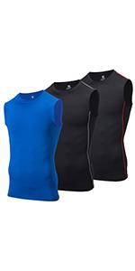 compression shirts sleeveless