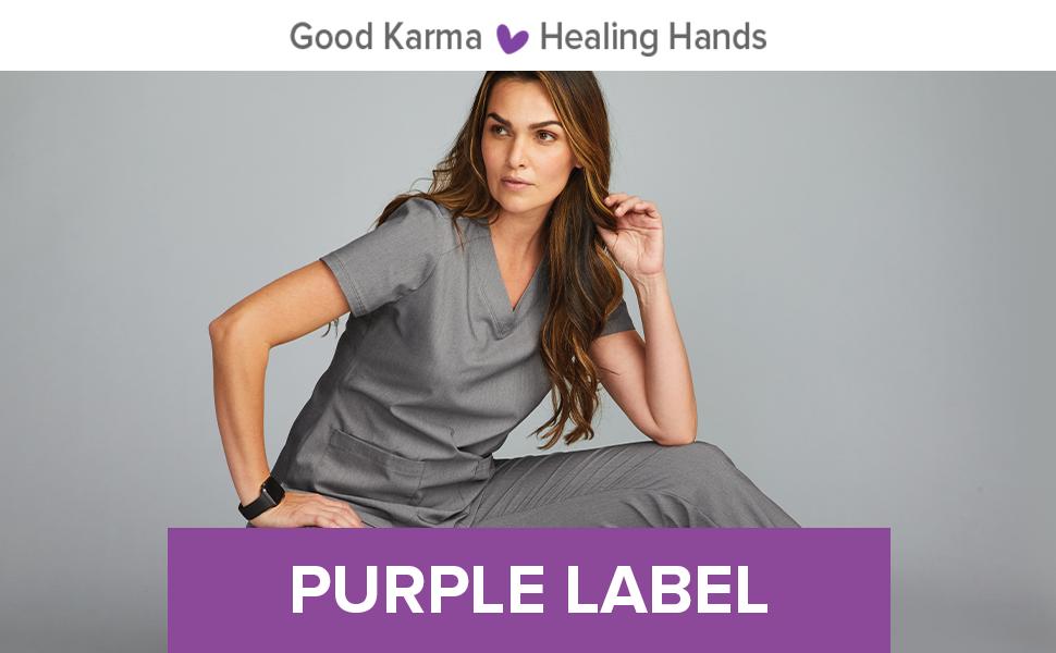 Healing Hands Purple Label Scrubs