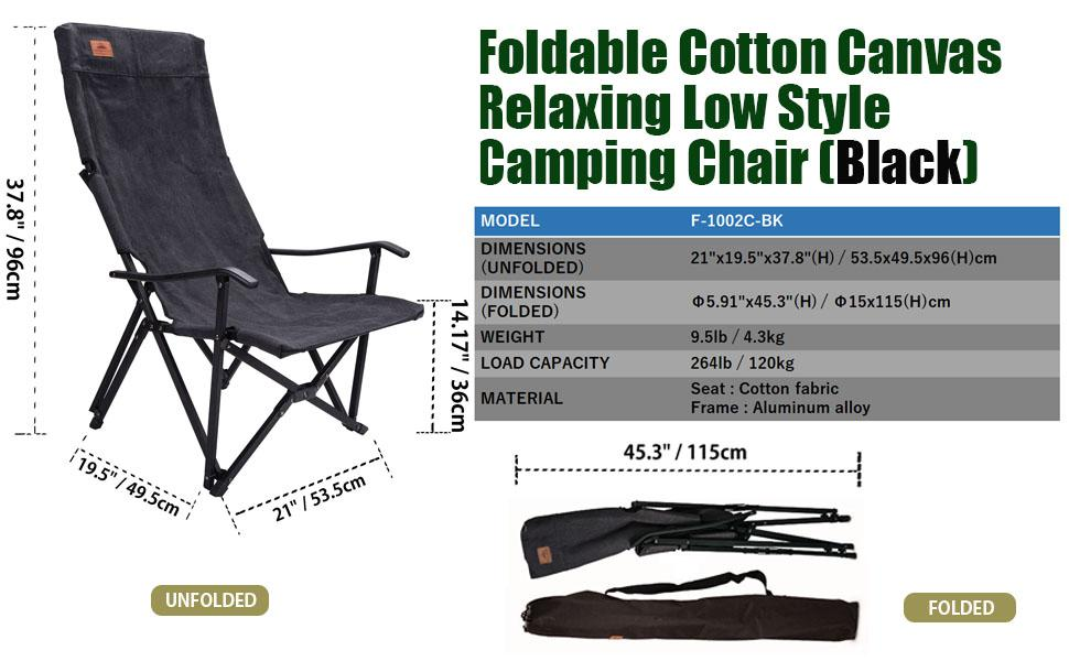 low style high back chair