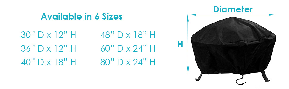 size options