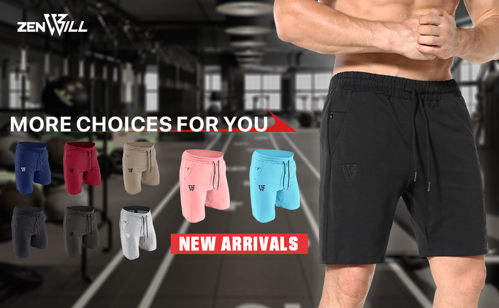 our premium popular brand Mens athletic workout running shorts fitness basketball zip pockets