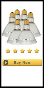 Satco 60PAR30L/HAL/XEN/NFL/120V Halogen Halogen PAR Light, 60W E26 PAR30, Clear Bulb