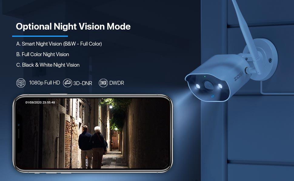 Optional Night Vision