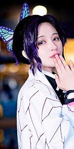 Kochou Shinobu Cosplay wig