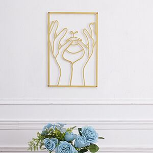 Gold wall decor 1 pack