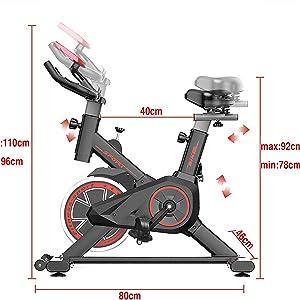 bicicleta de spinning, spinbike, bicicleta estática, indoor cicling, fitfiu, grandilux