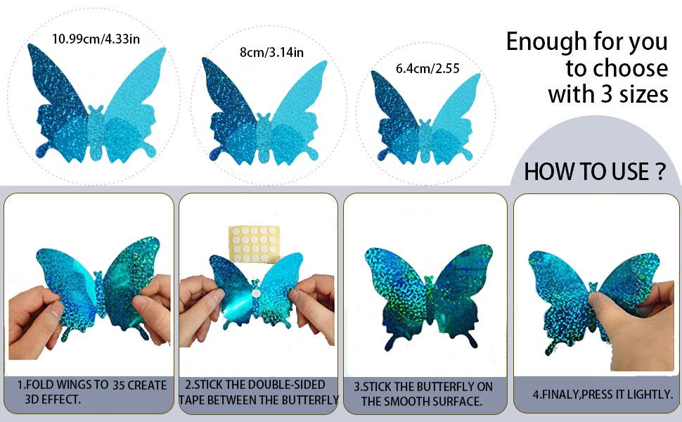 3d butterfly use