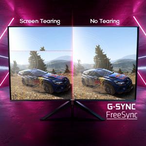 gsync freesync no tear gaming monitor
