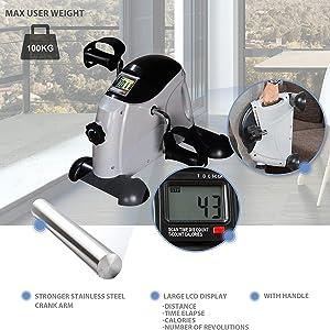 gewicht hometrainer