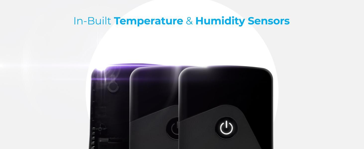 Cielo Breez Eco in-built temperature and humidity sensors