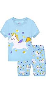 Pijama de unicornio para niña