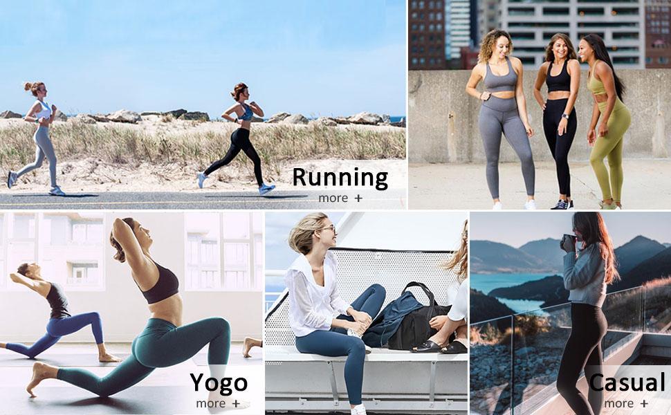 waist control leggings for women