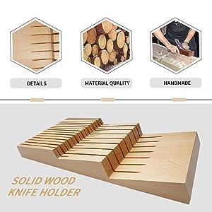 The whole wood is handmade