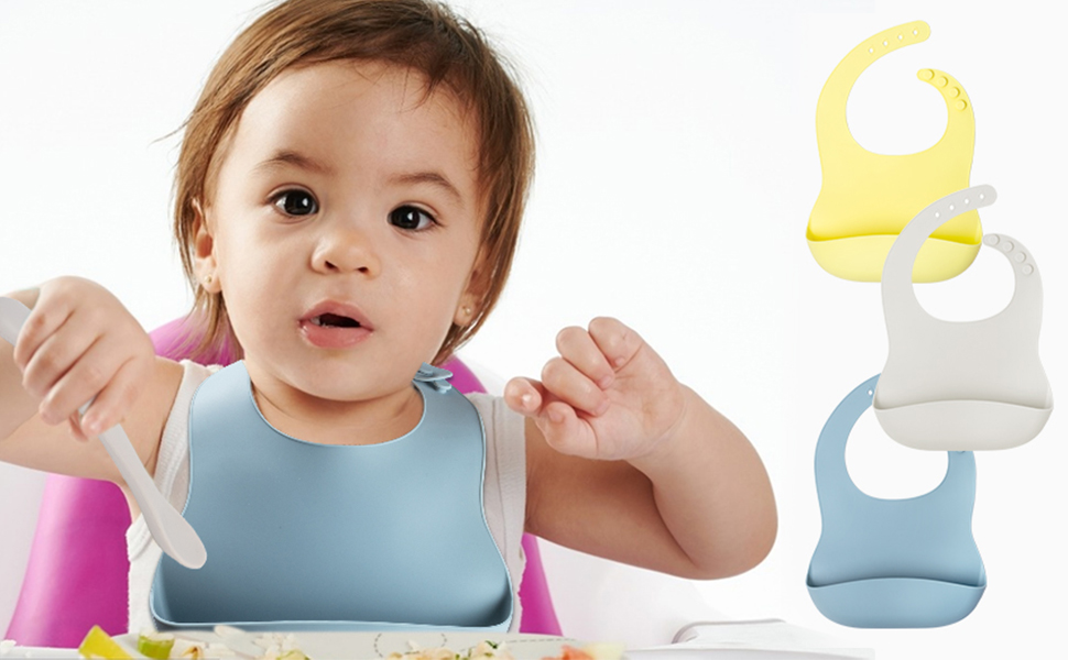 silicone bibs for babies