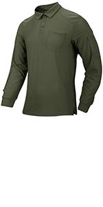 men tactical polo shirt