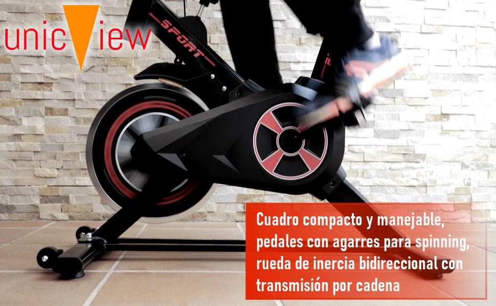 bicicleta de spinning, bicicleta estática, bicicleta indoor, fitfiu, gridinlux