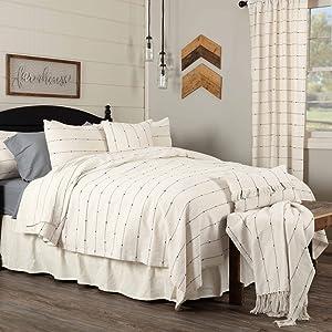 Farmcloth Stripe Coverlet Blanket